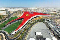 Ferrari World Abu Dhabi | Benoy http://www.arch2o.com/ferrari-world-abu-dhabi-benoy/