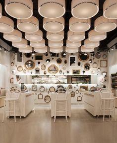 Skins 6 2 by Uxus Las Vegas 02 Shop Interior Design, Retail Design, Interior Design Inspiration, Store Design, Boutique Interior, Work Inspiration, Interior Ideas, Interior Styling, Design Commercial