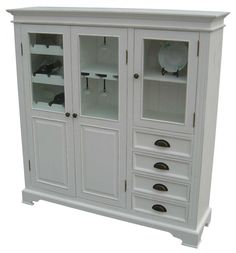 Majestic White Sideboards and Cabinets with Cabinet Cup Pulls in Matte Black also Inside Cabinet Wine Glass Rack from Cabinet Decor Accents