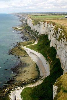 Cliffs of Côte d'Albâtre, Normandy