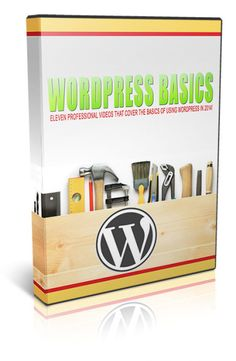 WordPress Basics 2014 - WordPress is the best CMS to build website. Thanks to its versatility, it fit every need. From personal blog, to big corporate blog, WordPress can be your place where to write, sell, promote.