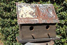 Antique Barnwood Birdhouse