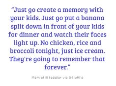 Just Do It - for families.