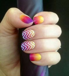 Did you know you can layer one Jamberry Wrap over another. Check out Adams Favorite with White Chevron on top!