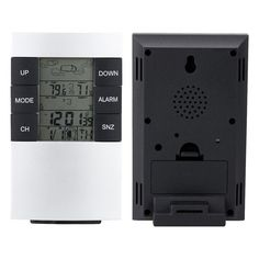 TS-H146 Wireless Weather Station Digital Weather Forecast Dual Alarm Clock Outdoor Temperature Thermometer Humidity Moisture Meter Backlight Sensor