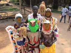 There are many different ways to celebrate the holidays in Africa. Most of the traditions involve spending time with family and eating good food, much like here in America. There is one difference though, as most African traditions don't exchange gifts on the holiday. Many families decide to go all out on the food they can get and participate in community Christmas celebrations much like the one pictured above.