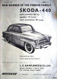 #skoda 440 1955