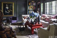 HOUSE TOUR: A Showroom Owner's Connecticut Cottage Is A Study In Eclectic Style
