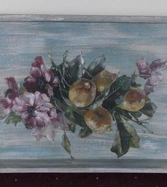 δισκος Tea Tray, Decoupage, Painting, Art, Art Background, Painting Art, Kunst, Paintings, Performing Arts