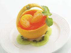 Grapefruit, Beverages, Menu, Pudding, Orange, Basket, Foods, Places, Menu Board Design