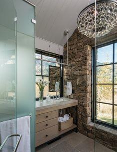 Nautical Bathroom Decor, Rustic Bathroom Designs, Contemporary Bathroom Designs, Rustic Bathrooms, Bathroom Interior Design, Bathrooms Decor, Tranquil Bathroom, Modern Bathroom Tile, Minimalist Bathroom