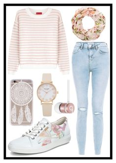 """""""221: Sweet"""" by alinepelle ❤ liked on Polyvore featuring HUGO, ECCO and Beats by Dr. Dre"""