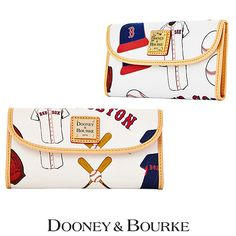 Boston Red Sox Continental Clutch by Dooney