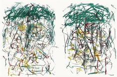 From inde/jacobs, Joan Mitchell, Sunflower I (diptych) Color Lithograph, 57 × 82 in Painting Process, Painting & Drawing, Tachisme, Joan Mitchell, Art Institute Of Chicago, Impressionist, Art Pictures, Artsy, Gallery