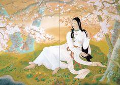 此花咲耶姫 堂本印象美術館 ギャラリー Konohanasakuya-hime (Goddess of Mt. Fuji) Insho Domoto