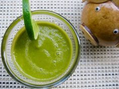 Body Ecology Friendly Raw Vegan Spicy Vegetable Green Smoothie. This is a fantastic option for breakfast or a healthy snack.