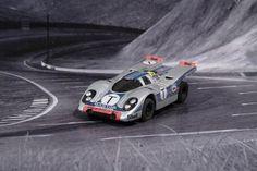 Faller AMS AURORA AFX Porsche 917k Martini
