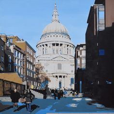 View St Paul's by Kris Mercer. Browse more art for sale at great prices. New art added daily. Buy original art direct from international artists.…