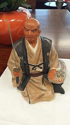 vintage Hakata Urasaki old samurai warrior