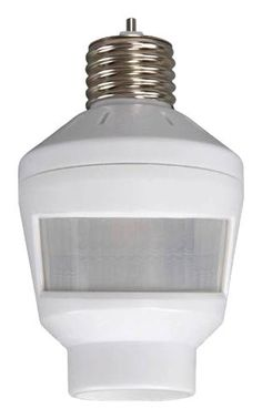 Westek MLC6BC Indoor Motion Activated Light Control With Selectable Off  Times, White By Westek.