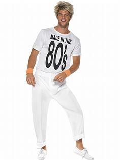 Made in the 80's! Get this fun costume for 80's or retro nights!