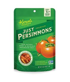 Karens Naturals Just Tomatoes Just Persimmons 4 Ounce Pouch Packaging May Vary >>> Check out this great product.Note:It is affiliate link to Amazon.