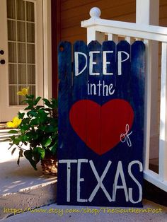 Reclaimed wood Deep In The Heart of Texas by TheSouthernPost Rustic, Custom, Home Decor