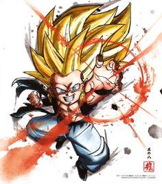 Watch anime online in English. Dragon Ball Z, Dragon Z, Anime Echii, Fanarts Anime, Anime Art, Bd Comics, Anime Comics, Goten Y Trunks, Illustrations