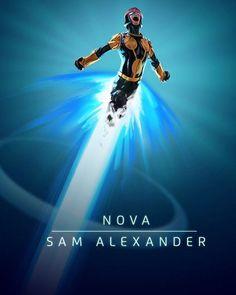 Sam Alexander as Nova - Visit to grab an amazing super hero shirt now on sale! Mundo Marvel, Hq Marvel, Marvel Comic Universe, Marvel Comics Art, Comics Universe, Marvel Heroes, Captain Marvel, Marvel And Dc Characters, Marvel Cards