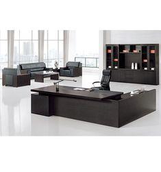 Emboss Oak Executive Wooden Office Desk Office Table Design, Corporate Office Design, Office Furniture Design, Home Office Design, Office Decor, Executive Office Furniture, Modern Office Desk, Modern Home Interior Design, Luxury Office