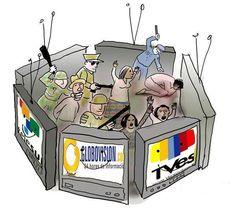 Vendidos medios de comunicación que se prestan a la INFAMIA del régimen y NO informan. #LiberenALedezma