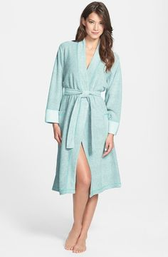 NATORI Nirvana Robe Aquamarine $49 IN STORE OR FREE SHIPPING (Compare other stores at $60.00)