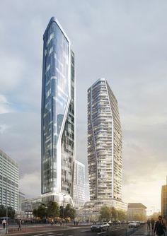 """Deutsche-Bank-Dreieck wird Quartier """"Four"""" (bis 228 m / geplant) - Seite 20 - Deutsches Architektur-Forum"""