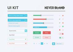Free Clean UI Kit PSD UI kit - http://www.vectorarea.com/free-clean-ui-kit-psd-ui-kit