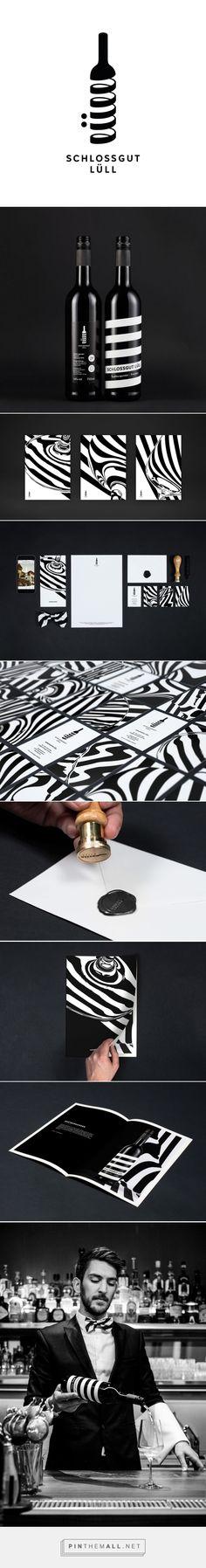 Schlossgut Lüll – Corporate Design - created via https://pinthemall.net