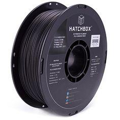 HATCHBOX 3D PLA-1KG1.75-CARBON PLA 3D Printer Filament, Dimension Accuracy +/- 0.05 mm, 1kg Spool, 1.75 mm, Carbon - http://www.real3dprinter.com/3d-printers/hatchbox-3d-pla-1kg1-75-carbon-pla-3d-printer-filament-dimension-accuracy-0-05-mm-1kg-spool-1-75-mm-carbon/?utm_source=PN&utm_medium=Pinterest+Printer+Parts&utm_campaign=SNAP%2Bfrom%2BThe+3D+Printing+Website  #0.05, #1.75, #Accuracy, #Carbon, #Dimension, #Filament, #HATCHBOX, #PLA1KG1.75CARBON, #Printer, #Spool