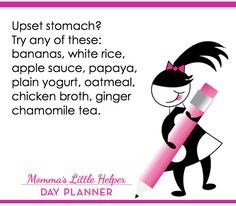 I feel like I've been on a ginger-ale & chicken broth diet forever! #lifehack #inthekitchen #tummytroubles #parenting #kids #sickkids #stomachache #upsetstomach #anxiety