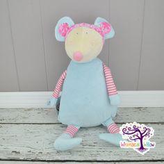 Mouse Pastel Stuffed Animal Cubbie