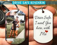 Picture keychain gifts for boyfriend anniversary gift keychain for boyfriend bo. Picture keychain gifts for boyfriend anniversary gift keychain for boyfriend boyfriend gift personalized drive safe keyc. Cute Boyfriend Gifts, Christmas Gifts For Boyfriend, Boyfriend Anniversary Gifts, Birthday Gifts For Boyfriend, Boyfriend Boyfriend, Anniversary Gifts For Your Boyfriend, Boyfriend Presents, 1 Year Anniversary Gift Ideas For Him, Customized Gifts For Boyfriend