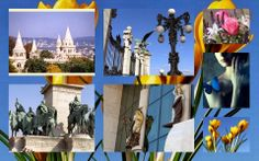 Montage from Buda area Casttle disctrit t