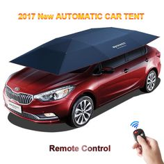 2017 New Automatic Car Tent With Remote Control Anti UV WindWindproof Sun Shelter Umbrella Awning Tent For Car DHL Free Shipping-in Sun Shelter from Sports & Entertainment on Aliexpress.com | Alibaba Group