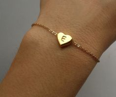 Pendant measures: Heart:11mm*10mm Bracelet length: Normal length:17 cm. A gift for sister,mom,bridesmaid... For Wedding,Party,Family...