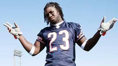 """""""I think we need to Rastify him by - Top Ten NFL Players with Dreads Chicago Bears Wallpaper, Devin Hester, Nfl, Little League Baseball, Cute Games, Many Men, Best Player, Dreads, Cribbs"""