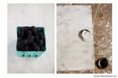 DIY Food photography backdrop #tutorial  Instead of hunting down that perfectly weathered board, create your own!