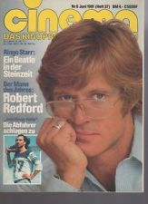CINEMA 1981 06  Robert Redford  Ringo Starr  Clio Goldsmith  Bud Spencer