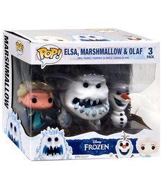 POP Disney - Frozen - Elsa, Marshmallow & Olaf (3 Pack) - 54,99€