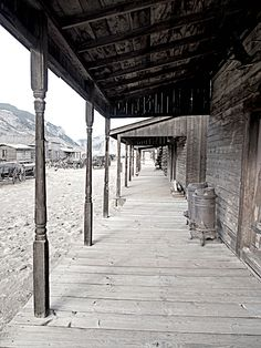 For a unique western experience tour a ghost town! Silver Reef, Utah. Abandoned Houses, Abandoned Places, Haunted Places, Spooky Places, Abandoned Mansions, Salt Lake City, Old Buildings, Old West Town, Old Town