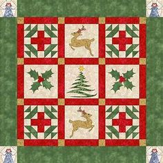 174 Free Christmas Quilt Patterns and Projects – Deb Ann's ...