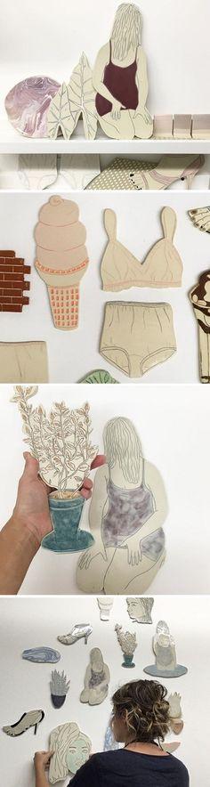Ceramics by Genevieve Dionne