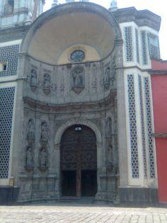 Iglesias en torno a La Alameda, de la ciudad de México